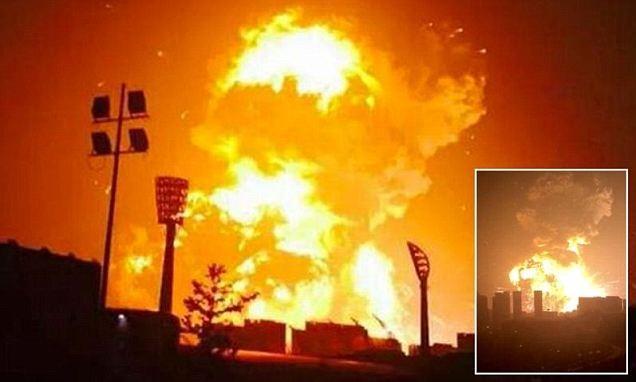 """200 chuyên gia """"giả mã"""" khí độc từ vụ nổ kinh hoàng ở Trung Quốc - anh 1"""