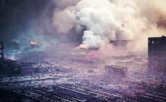 """200 chuyên gia """"giả mã"""" khí độc từ vụ nổ kinh hoàng ở Trung Quốc - anh 3"""