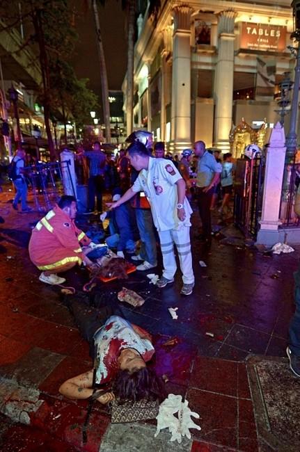 Thái Lan: Đánh bom rung chuyển Bangkok, hàng trăm người thương vong - anh 2