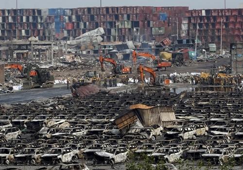 Trung Quốc xác định được kho hóa chất cực độc ở Thiên Tân - anh 1