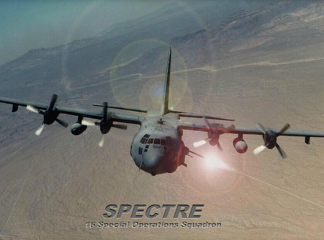 """Máy bay cường kích Lockheed AC-130 – """"Hung thần"""" của Không quân Mỹ - anh 8"""