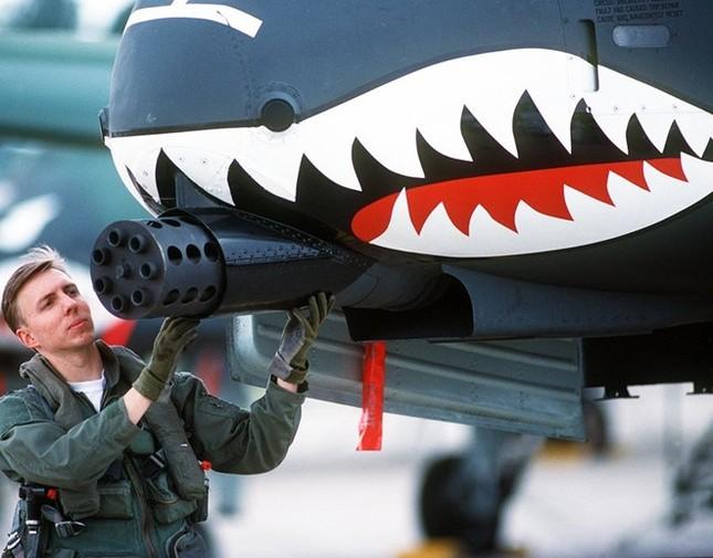 """Khám phá sức mạnh """"Thần sấm"""" A-10 Thunderbolt của Không quân Mỹ - anh 2"""