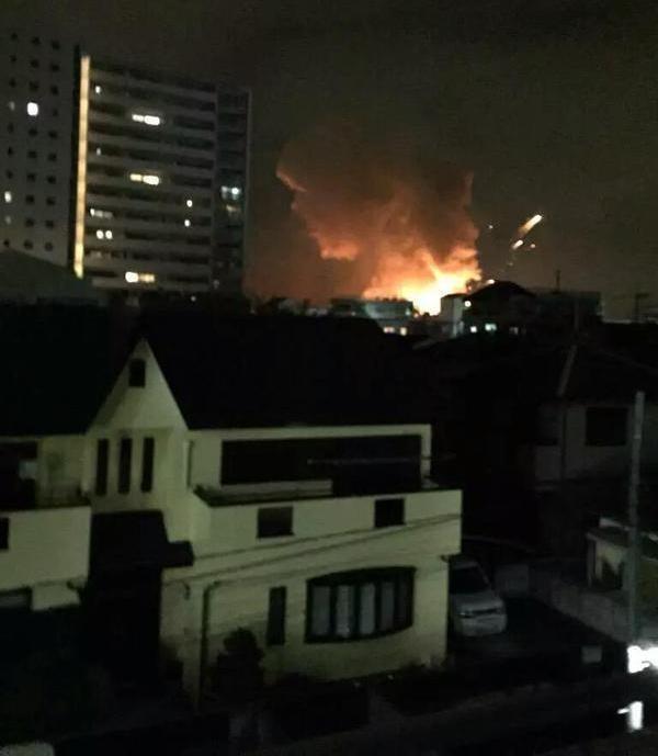 Căn cứ quân sự Mỹ ở Nhật Bản bất ngờ phát nổ hàng loạt - anh 1