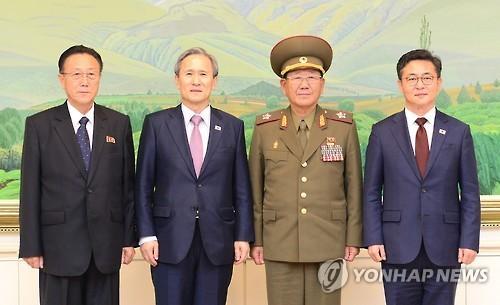 Đàm phán liên Triều đạt thỏa thuận lịch sử, thoát nguy cơ chiến tranh - anh 1