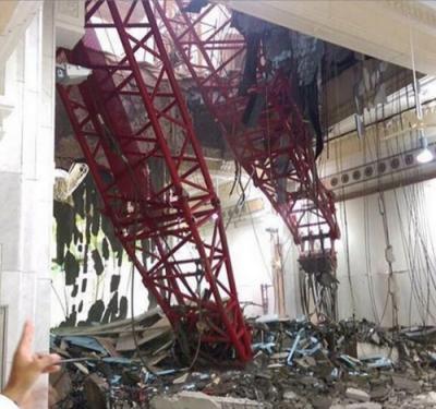 Saudi Arabia: Sập cần cẩu ở Thánh địa Mecca, ít nhất 107 người chết - anh 1