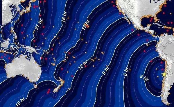 Chile: Động đất 8,3 độ richter, cảnh báo sóng thần - anh 3