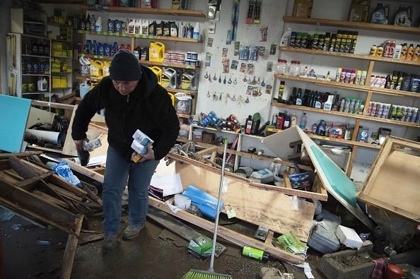 Vụ động đất 8,3 độ Richter ở Chile: 11 người chết, dỡ bỏ cảnh báo sóng thần - anh 2