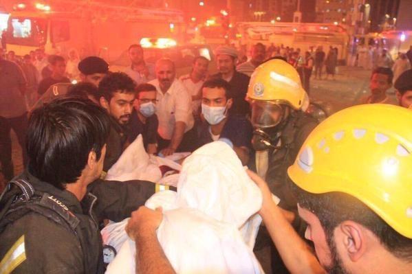 Cháy lớn ở thánh địa Mecca, hơn 1.000 người phải sơ tán - anh 1