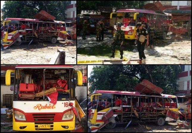 Philippines: Bom nổ xé nát xe buýt, 33 người thương vong - anh 2