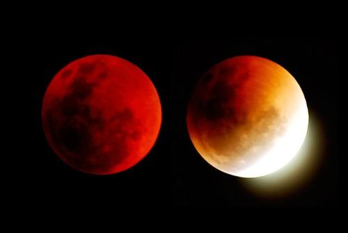 Siêu Trăng và Trăng máu cùng xuất hiện vào đêm Rằm - anh 2