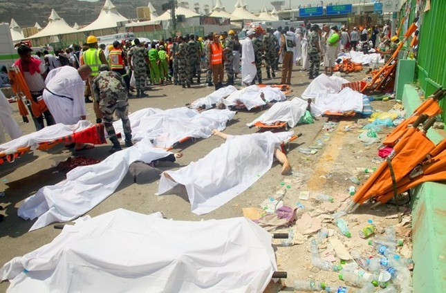Iran để quốc tang ba ngày sau thảm họa giẫm đạp kinh hoàng ở Mecca - anh 1