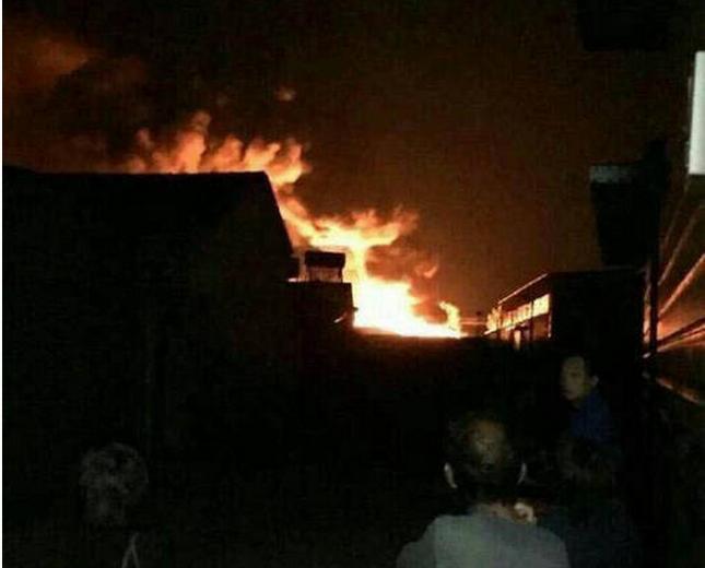 Lại xảy ra nổ lớn tại nhà kho Thiên Tân, Trung Quốc - anh 3