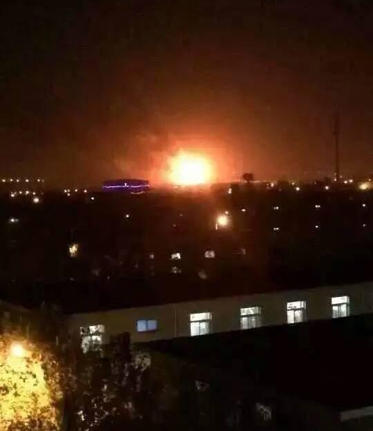 Lại xảy ra nổ lớn tại nhà kho Thiên Tân, Trung Quốc - anh 2