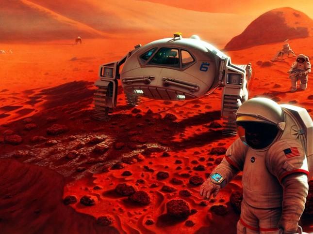"""NASA tiết lộ """"hành trình 3 bước"""" đưa người lên chinh phục sao Hỏa năm 2030 - anh 1"""