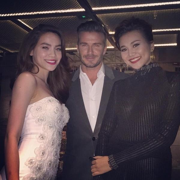 Beckham khen Hồ Ngọc Hà xinh gái - anh 2
