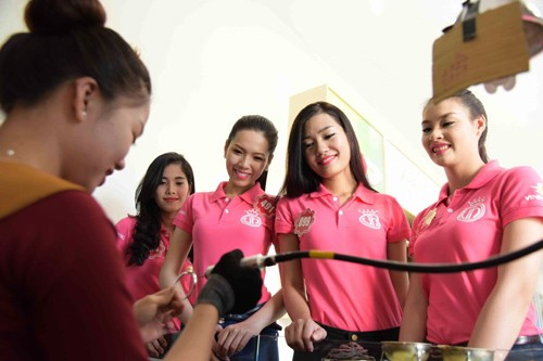 Ngắm nhan sắc rực rỡ tươi trẻ của thí sinh Hoa hậu Việt Nam trên đảo Phú Quốc - anh 8