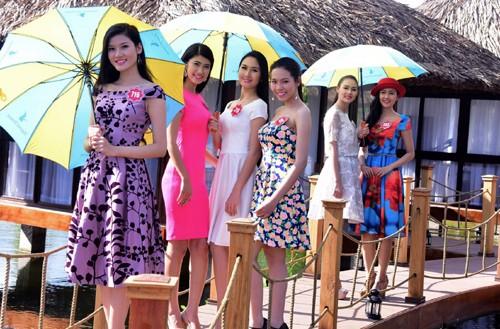 Ngắm nhan sắc rực rỡ tươi trẻ của thí sinh Hoa hậu Việt Nam trên đảo Phú Quốc - anh 7