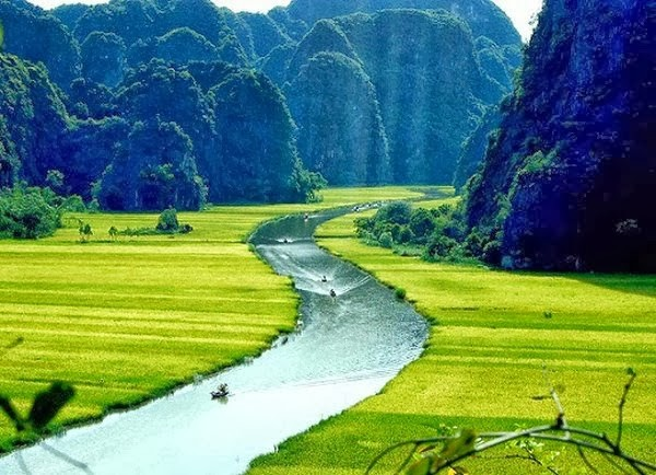 Ngơ ngẩn ngắm non nước mây trời di sản thiên nhiên thế giới Tràng An - anh 1