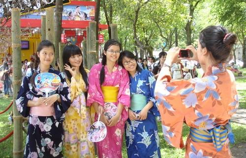 Ngày văn hóa Nhật Bản tại Thanh Hóa khởi động năm Du lịch Quốc gia 2015 - anh 1