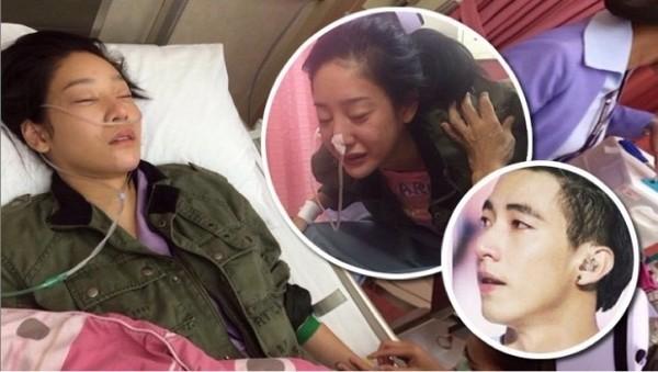 Biểu tượng gợi cảm của Thái Lan uống thuốc ngủ tự tử vì chồng bỏ - anh 1
