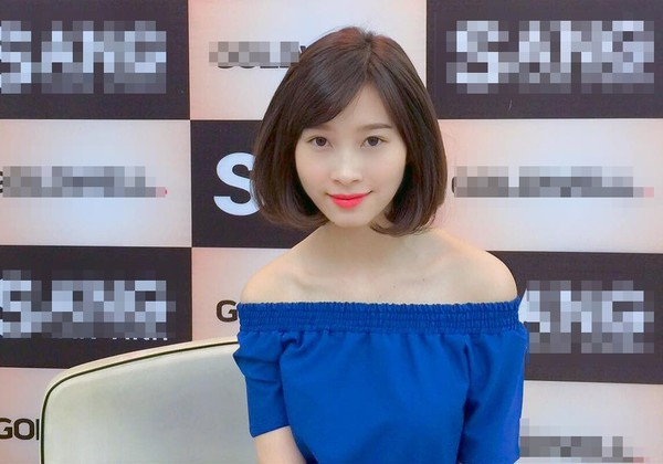 Hoa hậu Đặng Thu Thảo khác lạ với kiểu tóc ngắn - anh 1