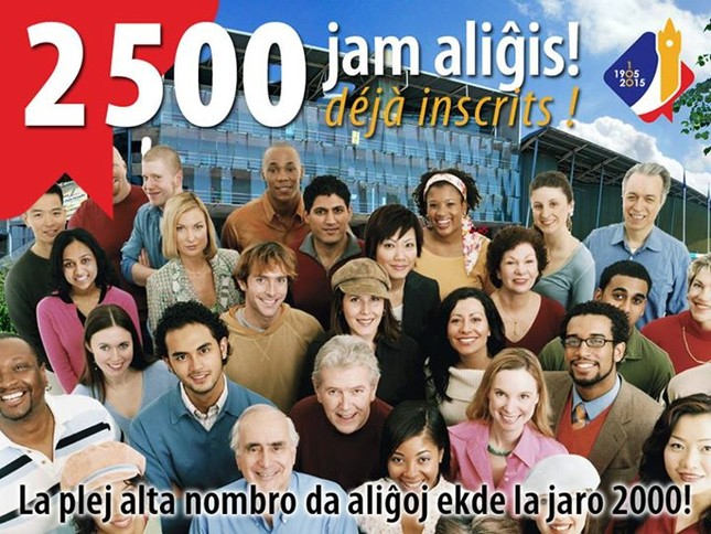 Hơn 2.500 người tham gia Đại hội Quốc tế ngữ (Esperanto) toàn cầu lần thứ 100 - anh 2