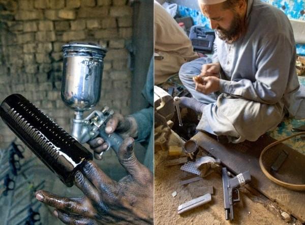 Ngôi làng chuyên sản xuất vũ khí lậu cho mạng lưới khủng bố ở Pakistan - anh 11
