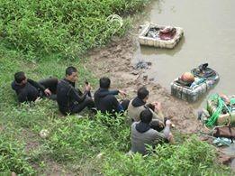 Vĩnh Phúc: Đau lòng 1 phụ nữ mang thai lao mình xuống sông - anh 1