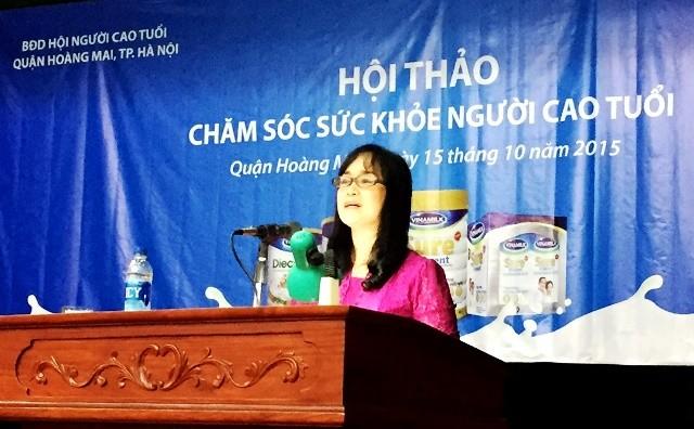 Vinamilk chăm sóc sức khỏe cho người cao tuổi TP.Hồ Chí Minh và Hà Nội - anh 2