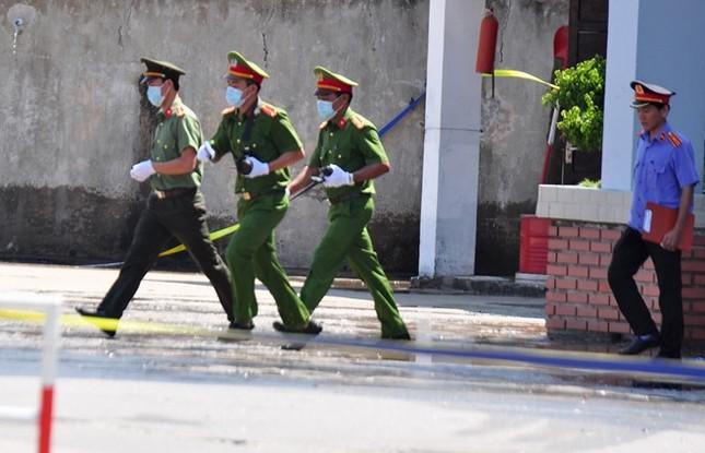 Diễn tập chống khủng bố ở nhà máy lọc dầu Dung Quất - ảnh 14