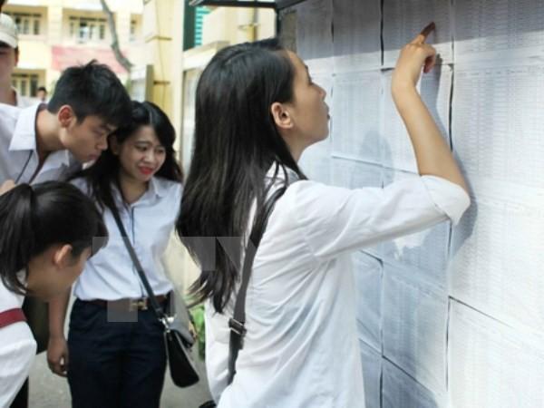 Năm 2017 sẽ có bốn phương thức xét tuyển vào các trường đại học - ảnh 1