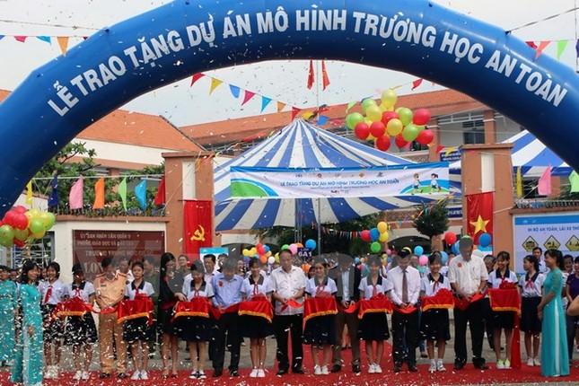 Bàn giao mô hình trường học an toàn thứ hai tại Việt Nam - ảnh 1