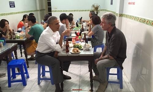 Đầu bếp kể về bữa bún chả 'phi thường' với Obama ở Hà Nội - ảnh 1