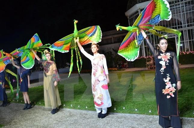 Thổ cẩm Việt Nam đi chinh phục kinh đô thời trang thế giới - ảnh 1
