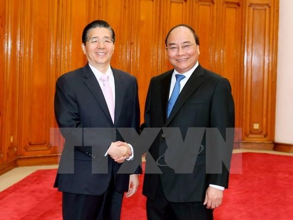 Thủ tướng Nguyễn Xuân Phúc tiếp Bộ trưởng Bộ Công an Trung Quốc - ảnh 1