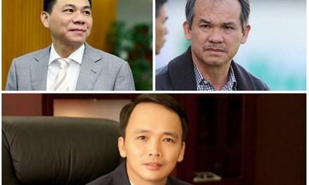 Đại gia Việt 'đổi ngôi' ngoạn mục sau một đêm - ảnh 1