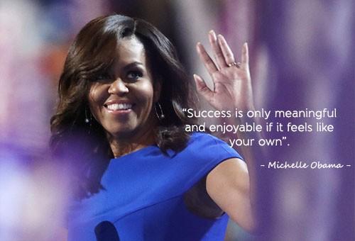Học tiếng Anh qua những câu nói ấn tượng của Michelle Obama - ảnh 1