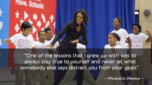 Học tiếng Anh qua những câu nói ấn tượng của Michelle Obama - ảnh 2