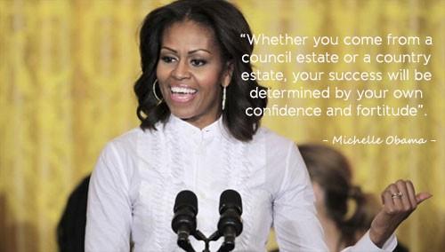 Học tiếng Anh qua những câu nói ấn tượng của Michelle Obama - ảnh 3