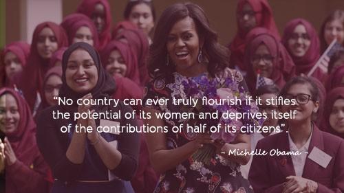 Học tiếng Anh qua những câu nói ấn tượng của Michelle Obama - ảnh 6