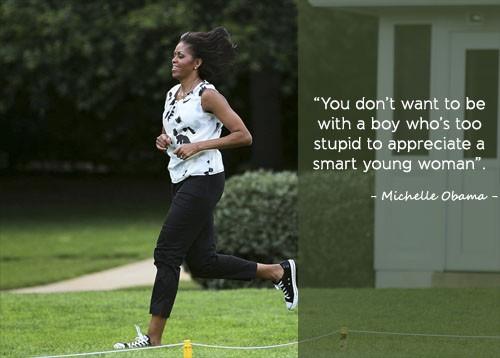 Học tiếng Anh qua những câu nói ấn tượng của Michelle Obama - ảnh 7