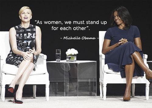 Học tiếng Anh qua những câu nói ấn tượng của Michelle Obama - ảnh 8