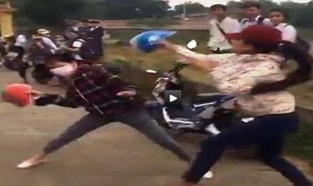 Nhiều vụ đánh nhau, quay video vì Facebook - ảnh 1