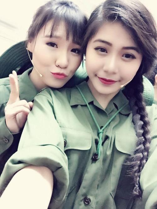 Nữ sinh trường quân đội trở thành Hoa khôi Sinh viên Hà Nội - ảnh 2