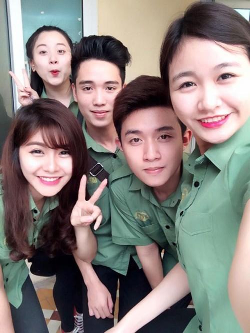 Nữ sinh trường quân đội trở thành Hoa khôi Sinh viên Hà Nội - ảnh 6
