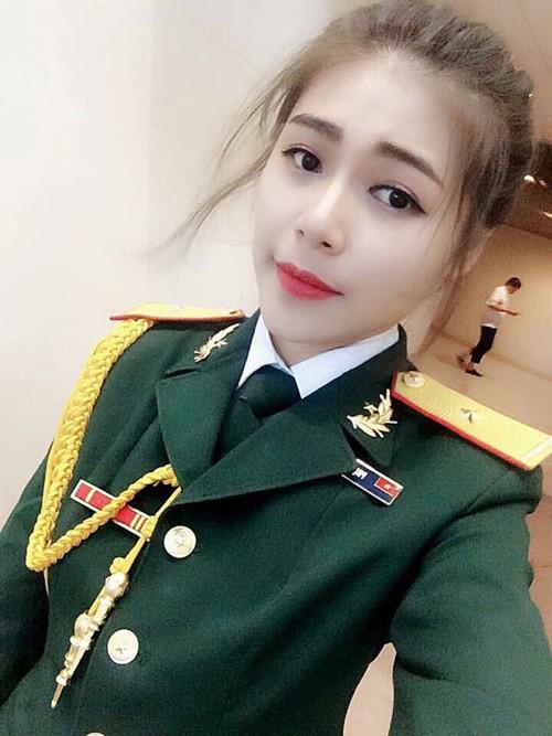 Nữ sinh trường quân đội trở thành Hoa khôi Sinh viên Hà Nội - ảnh 4