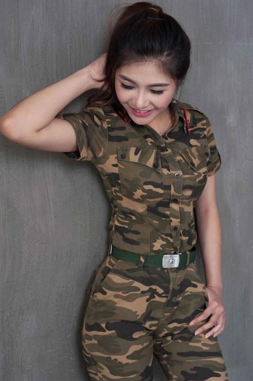 Nữ sinh trường quân đội trở thành Hoa khôi Sinh viên Hà Nội - ảnh 3