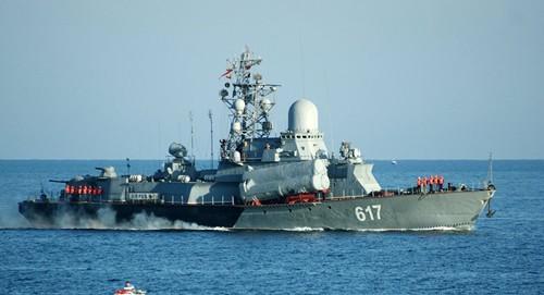 Nga điều thêm tàu tên lửa đến Syria - ảnh 1