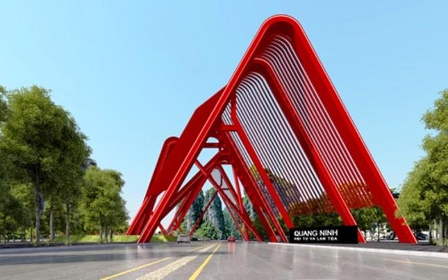 Cổng chào hai trăm tỷ ở Quảng Ninh - ảnh 10