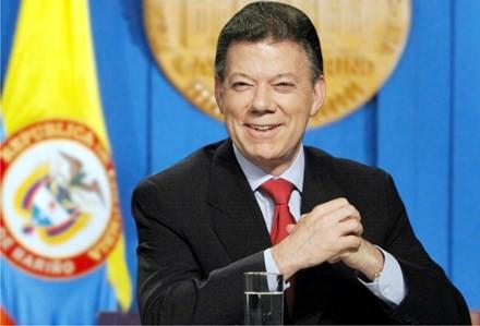 Tổng thống Colombia nhận giải Nobel Hòa bình - ảnh 1